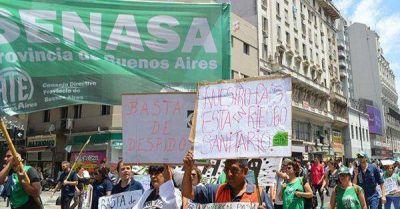 Contra los 130 despidos en el organismo, paralizan por 4 jornadas el Senasa