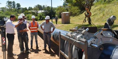 Avanza a buen ritmo la construcción de la nueva planta de agua en San Carlos