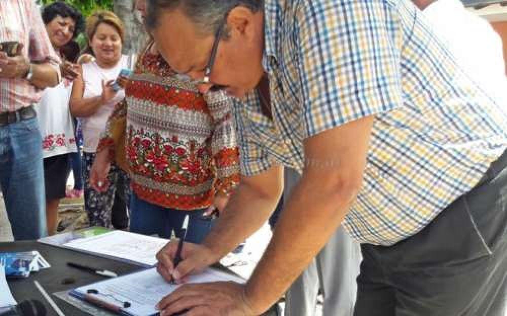 Con Leavy a la cabeza juntan firmas para derogar la Reforma Previsional: ¿llegarán?