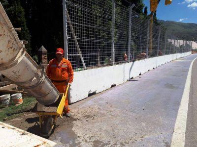 Nueva peatonal de circulación para el circuito de Potrero de los Funes