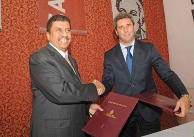 """Sergio Uñac: """"los capitales extranjeros confían en San Juan por su equilibrio fiscal"""""""