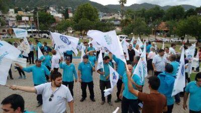 Una movilización a favor de la Coopi y contra el traspaso del servicio de agua