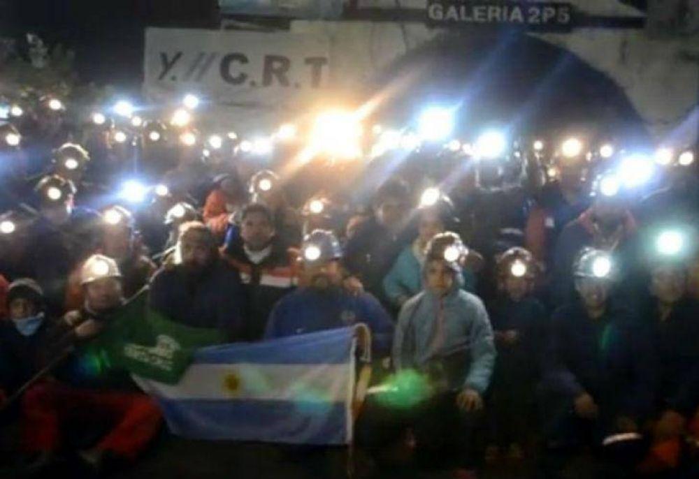 Tomaron la mina de Río Turbio para protestar contra los despidos