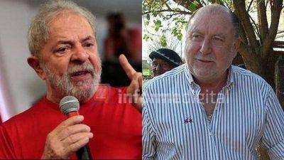Busti defiende a Lula y lo compara con Perón