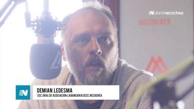 """Demian Ledesma: """"Bajar los niveles de divismo y priorizar la lucha por los sectores más humildes"""""""
