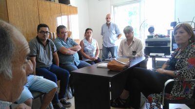La CGT Zona Atlántica se reunió con la legisladora nacional Silvia Horne