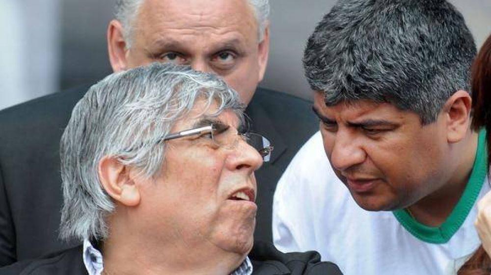 Acorralado, Hugo Moyano arrastra a la CGT hacia la fractura