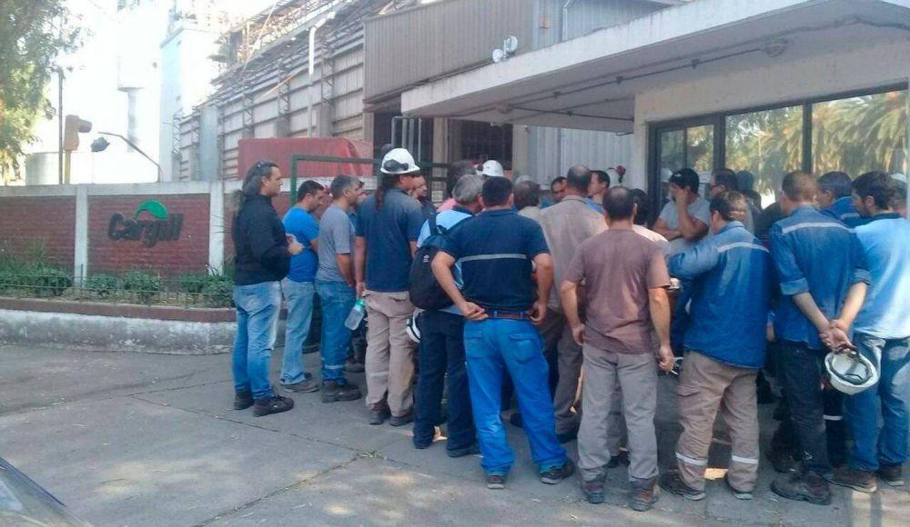 Continúa el conflicto por los despidos en Cargill