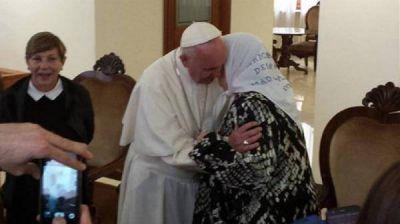 Hebe de Bonafini reveló que recibió una carta de apoyo del papa Francisco