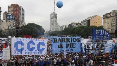 Los movimientos sociales y el PJ definen si se suman a la protesta de Moyano