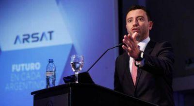 El yerno de Aguad admitió que no tenía experiencia para dirigir Arsat