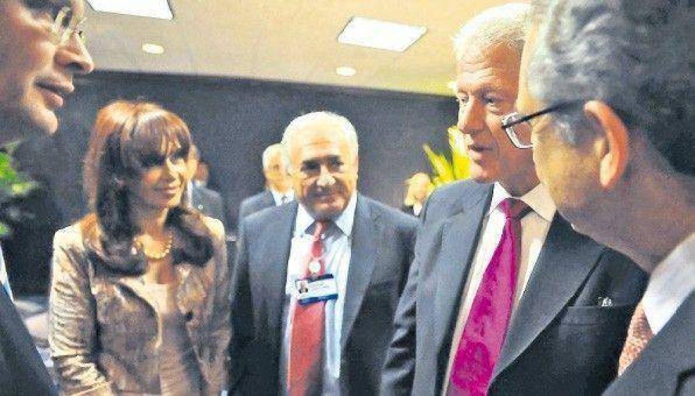 Cristina Kirchner escuchó promesas y quejas empresarias