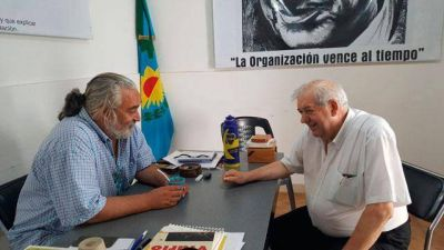 El Presidente del Concejo Deliberante visitó el PJ