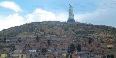 La Virgen más grande del mundo