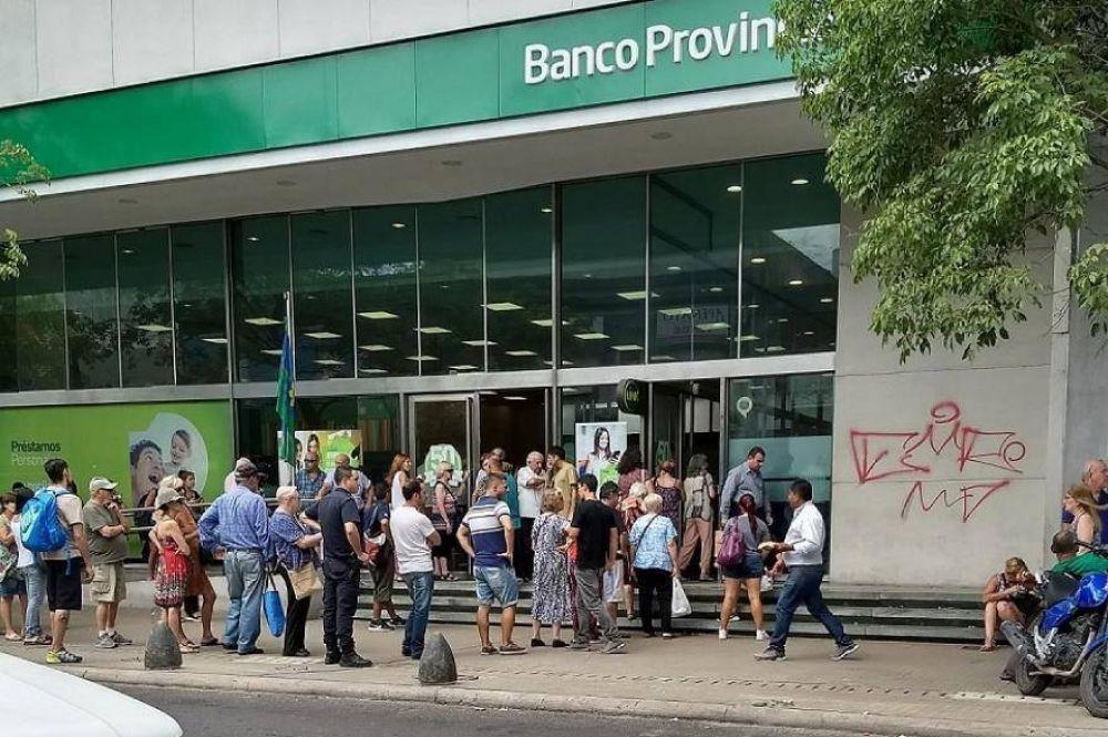 Hoy tampoco habrá atención al público por un paro del Banco Provincia