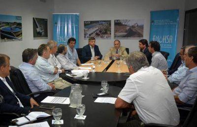 Peppo plantea celeridad al ENHOSA para la construcción del acueducto
