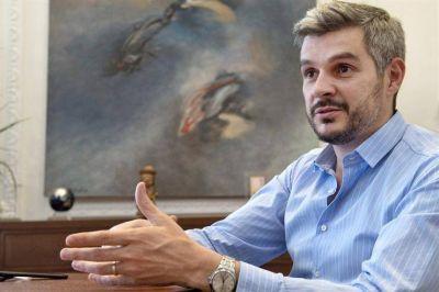 Marcos Peña le advierte a Moyano que el Gobierno no va a aceptar