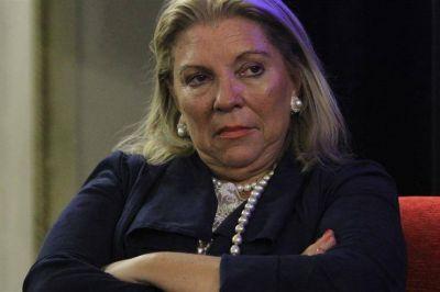 El regreso de Carrió pone en guardia al Gobierno