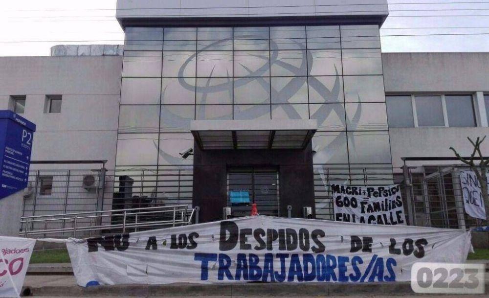 Trabajadores de Pepsico volverán a paralizar las actividades en la fábrica del Parque Industrial