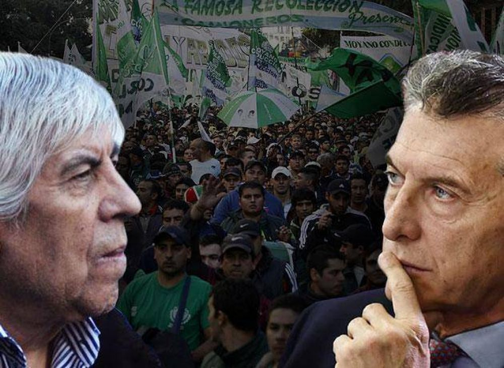 Macri versus Moyano: una guerra entre ex aliados que alcanza máxima tensión, pero sin dinamitar puentes