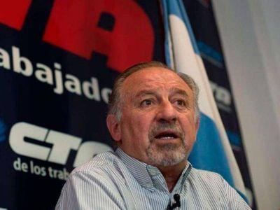 """Hugo Yasky: """"Debemos poner límites, y el único camino que tenemos es la movilización popular"""""""