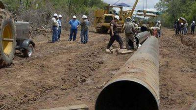 Las obras de agua potable, cloaca y hábitat serán prioridad en Santiago