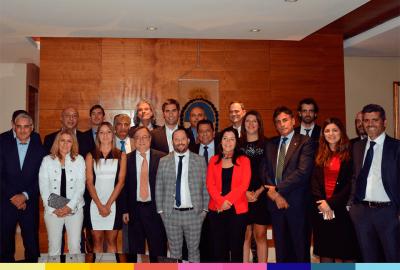 Legisladores bonaerenses, entre ellos Domínguez Yelpo, visitaron organismos de seguridad en México