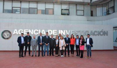 Legisladores bonaerenses visitaron un organismo de seguridad en México