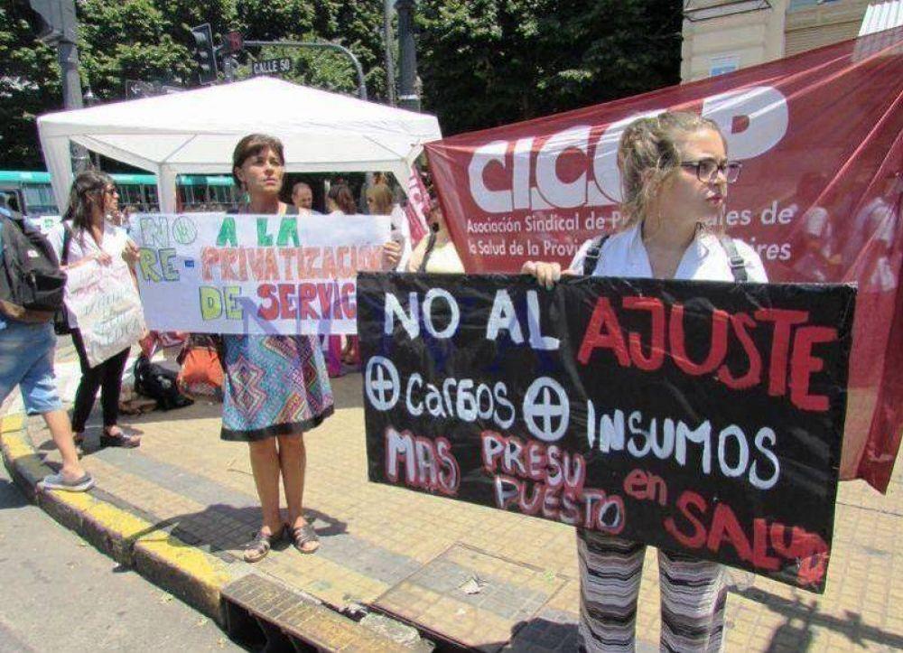 Ahora CICOP denuncia un ataque a la libertad sindical en el Hospital Posadas