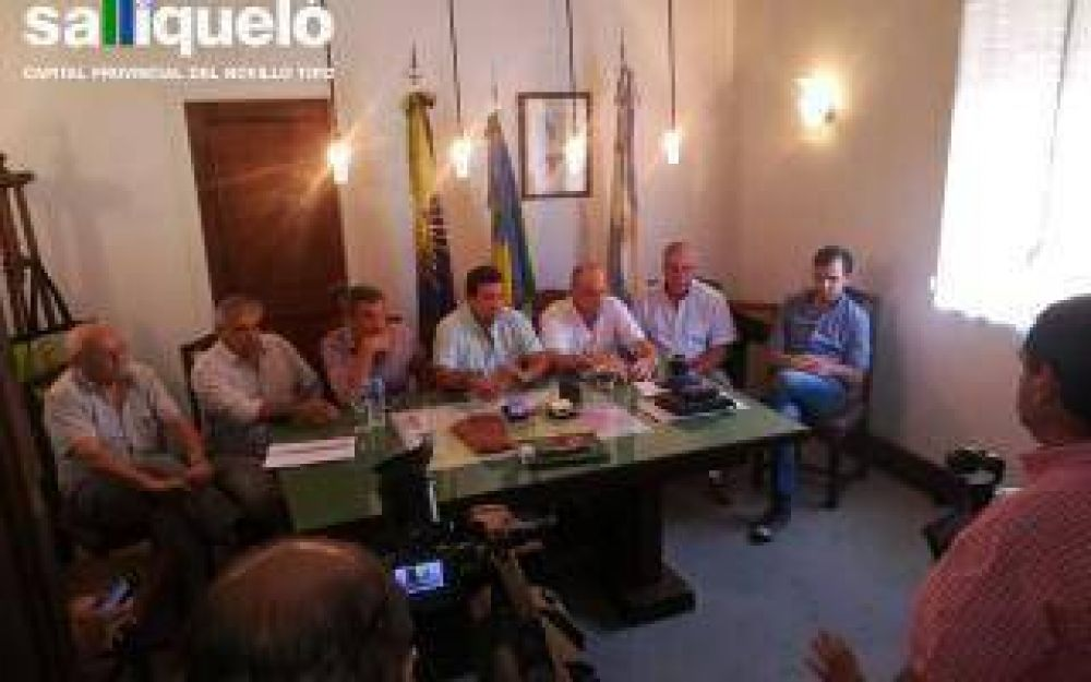Intendentes del oeste bonaerense mantuvieron un encuentro de regionalización en Pellegrini