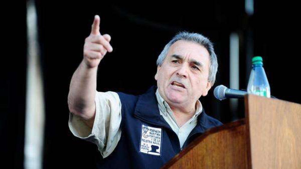 Schmid criticó el veto a la Ley de Marina Mercante