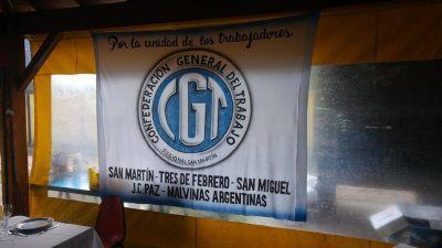 """CGT San Martin: """"Estamos preocupados, porque no se ven políticas para la creación de empleo genuino"""""""