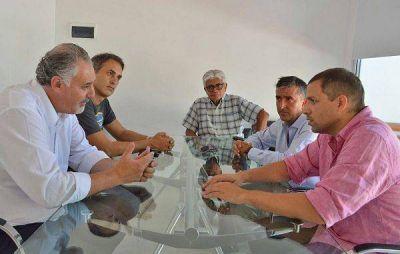 La Costa: Juan Pablo de Jesús se reunió con el rector de la Universidad Nacional de Mar del Plata
