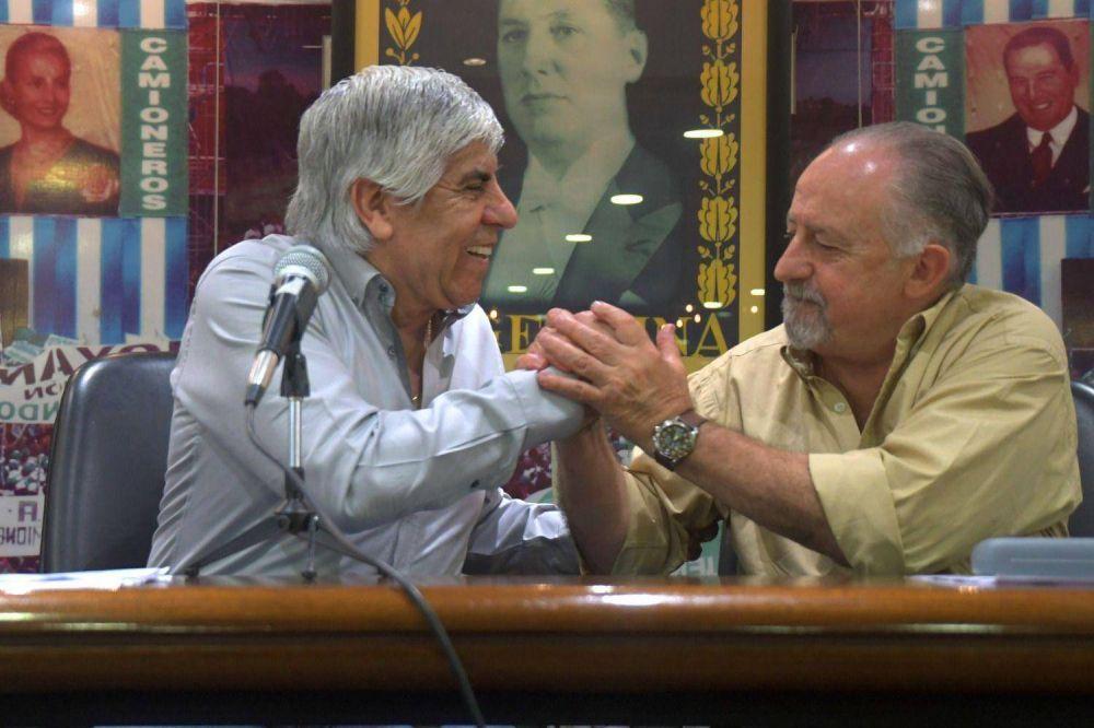 """Moyano cargó contra los Gordos y ahondó las diferencias: """"Son oficialistas"""""""