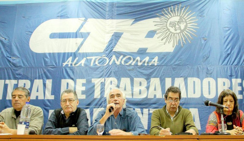 La CTA Autónoma anunció un paro nacional para el 15 de febrero