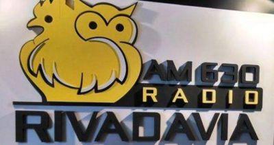 Radio Rivadavia a la deriva y con riesgo de dejar 120 empleados en la calle