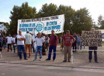 La UOM Córdoba reclamó el cierre de las importaciones