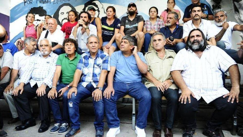 Pablo Moyano se reunió con los movimientos sociales y acordaron un apoyo mutuo