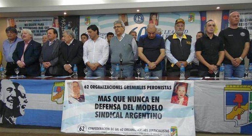 La marcha moyanista del 21-F agrietó las 62 Organizaciones Peronistas