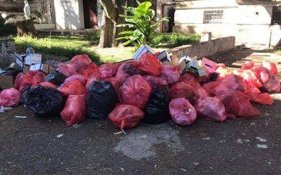 Quejas por el servicio de recolección de basura en La Plata