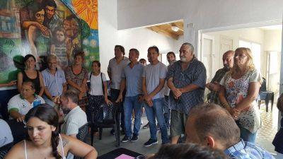 Gran Encuentro Sindical de la Quinta Sección se llevó a cabo en el PJ de General Pueyrredon