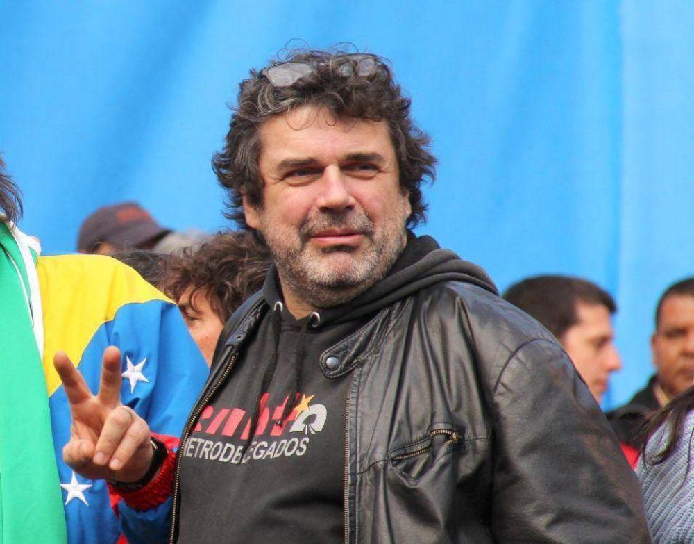 Los metrodelegados expresaron su solidaridad con los trabajadores del INTI