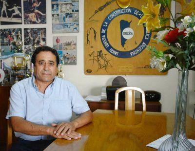 Nombraron a César Trujillo nuevo secretario general de la UOCRA local