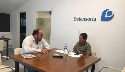 General Paz: el intendente ÁLvarez se reunió con el defensor del pueblo Guido Lorenzino