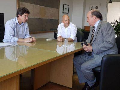 Reunión de trabajo entre el Municipio de Pilar y AySA