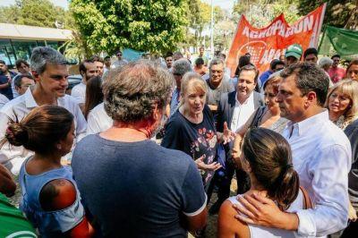 En medio de las reuniones peronistas, Massa y Margarita ratificaron su alianza