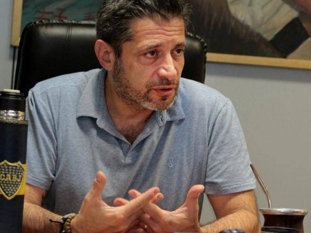 Renovación sindical: borra su nombre Santa María de la lista de invitados a la marcha de Moyano