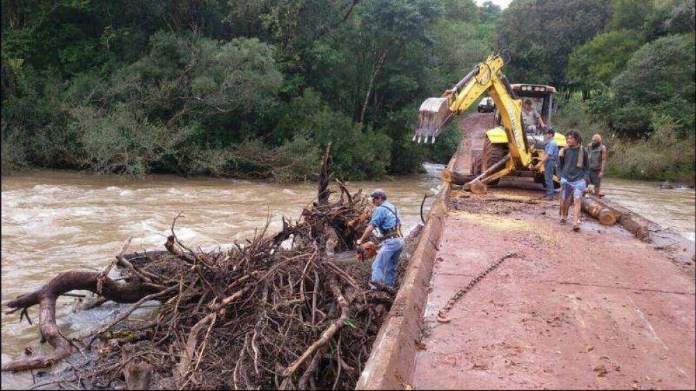 Se prohíbe el tránsito de camiones sobre el puente Piray Mini Faubel