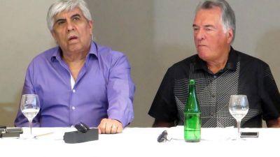 Hugo Moyano más aislado: Carlos Acuña se bajó de la marcha y Luis Barrionuevo lo anuncia el miércoles