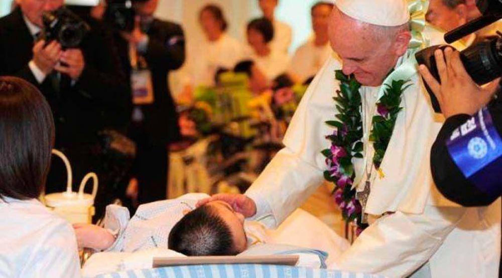 El mensaje del Papa en Twitter por la Jornada Mundial del Enfermo